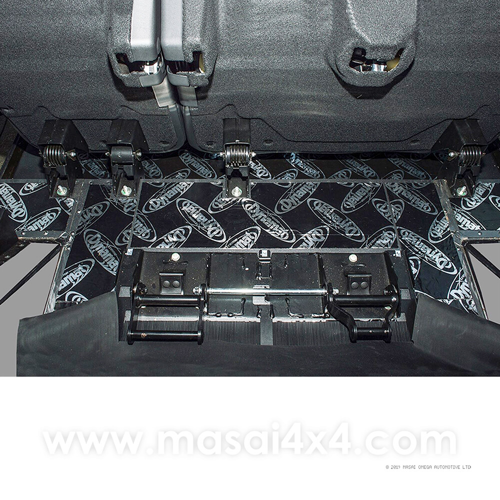 Dynamat Xtreme Sound Deadening Kit - Rear Floor for Defender Puma Models (Post 2007)