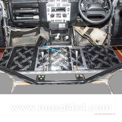 Dynamat Xtreme Sound Deadening Kit - Seat Box for Defender Puma Models (Post 2007)