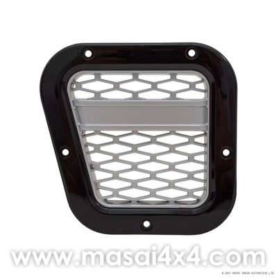 XS Style Intake Grille - Left Hand Side - (Black with Silver Mesh/ Silver with Black Mesh)