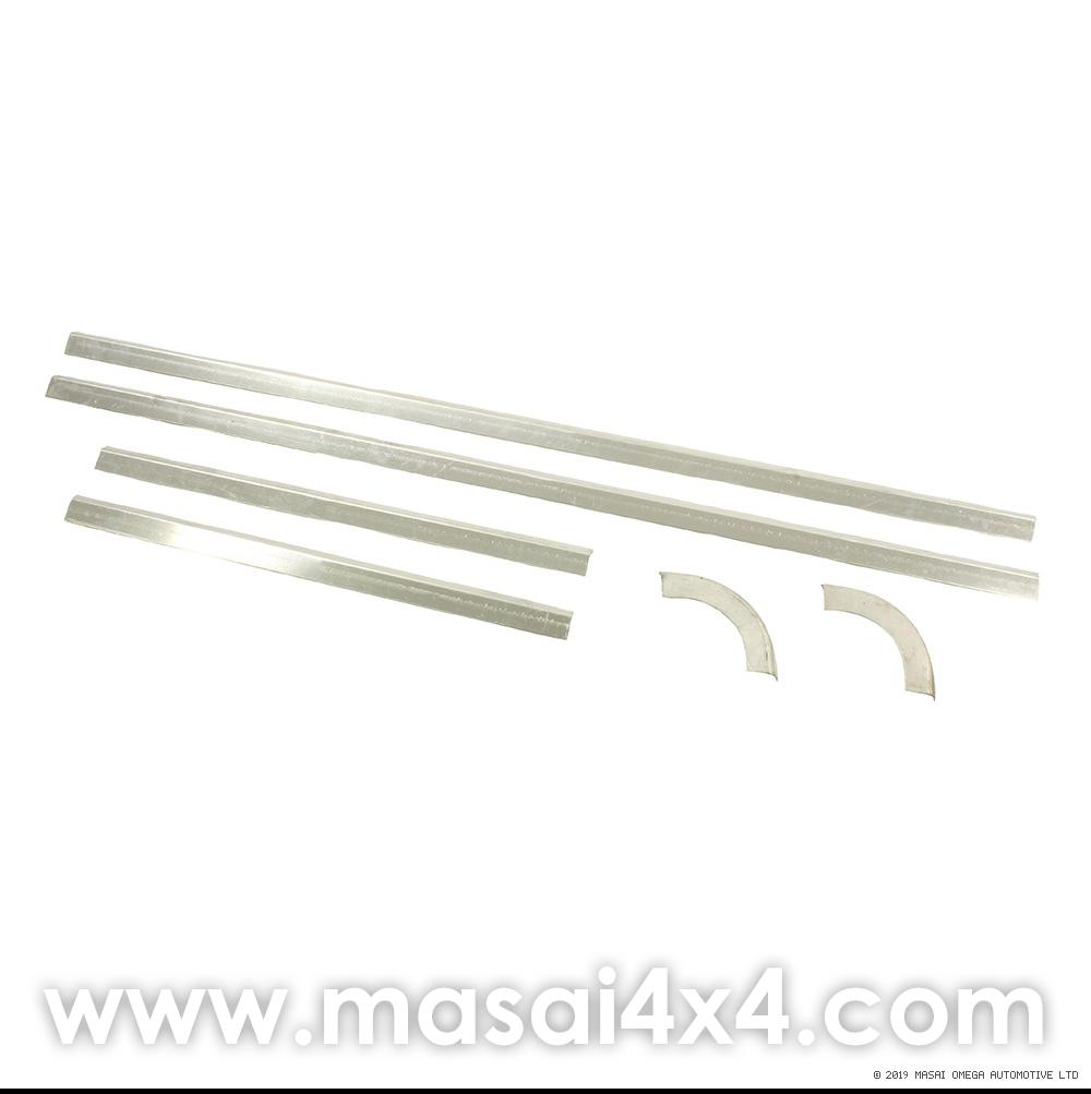 Rear Door Glass Retainer Kit - for Pre 2002 Rear Door (Defender 90 / 110)