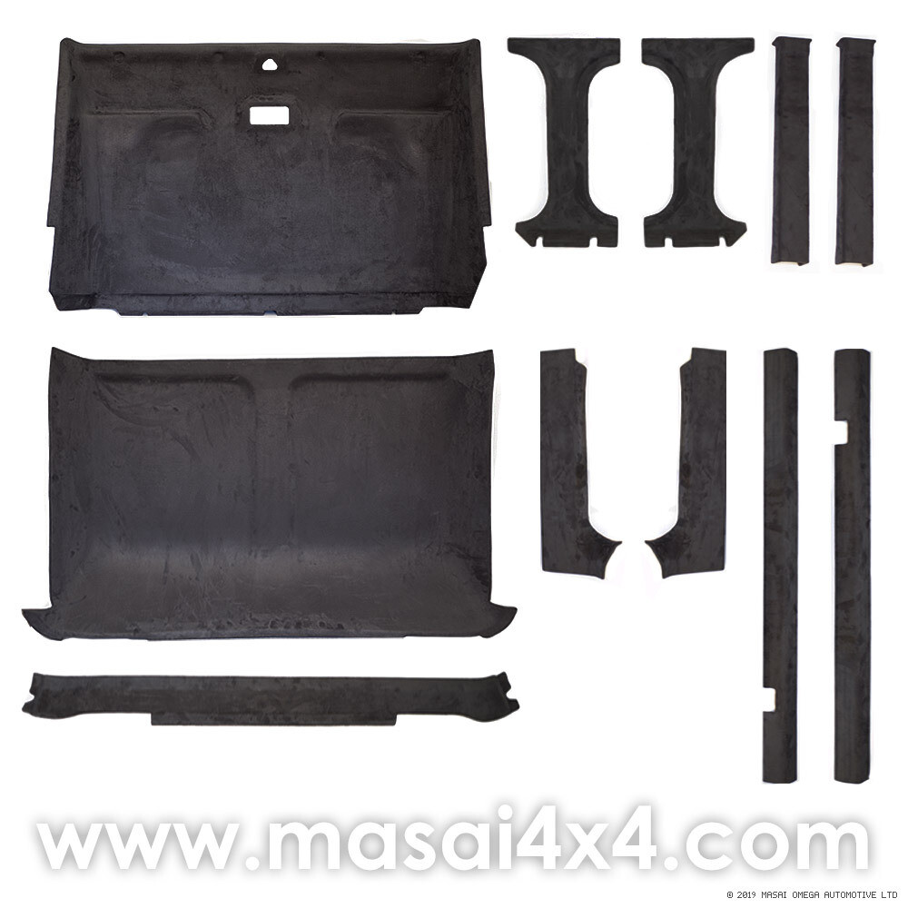 Headlining / Rooflining Kit for Land Rover Defender 110/130 Crew Cab