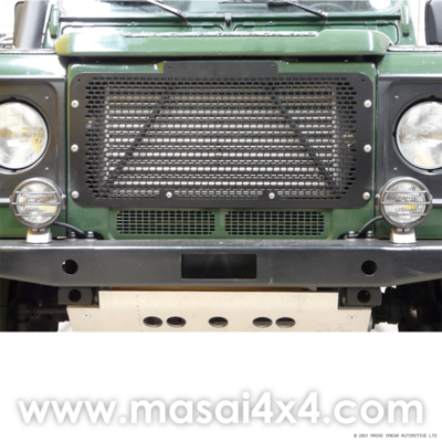 Stainless Steel Defender Front Grille