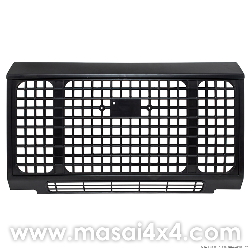 Heritage Edition Style Front Grille - Black