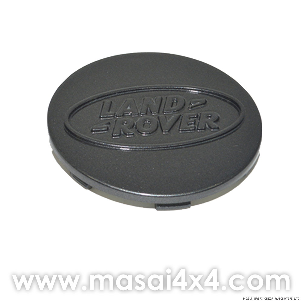 Genuine Land Rover Wheel Centre Cap with Logo - Pewter or Silver (75mm)