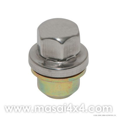 Wheel Nut for Alloy Wheels & S/S Cap - Defender (2007 Onwards)