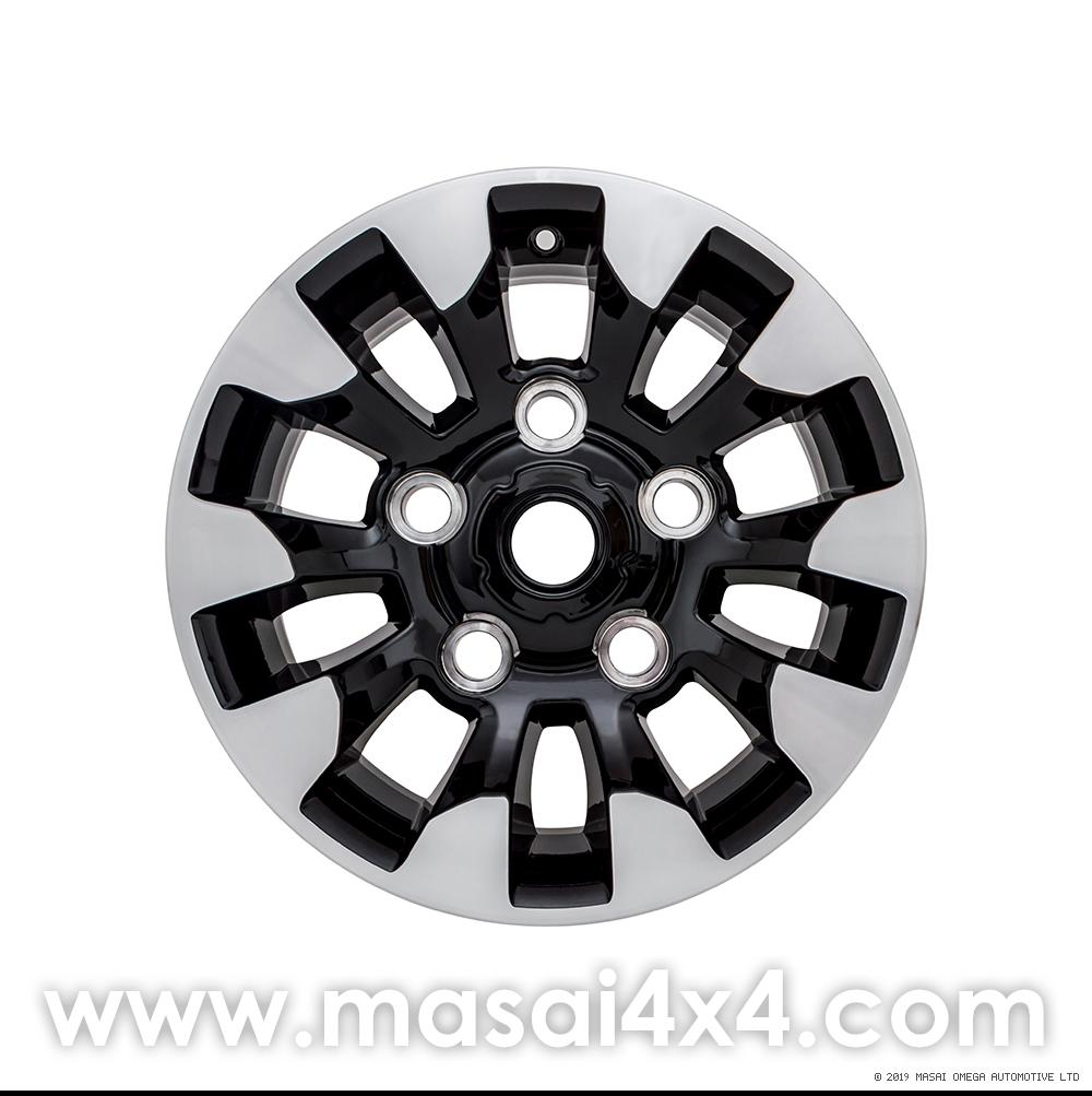 Special Edition Style Alloy Wheel - Black Gloss, Diamond Cut Finish (16