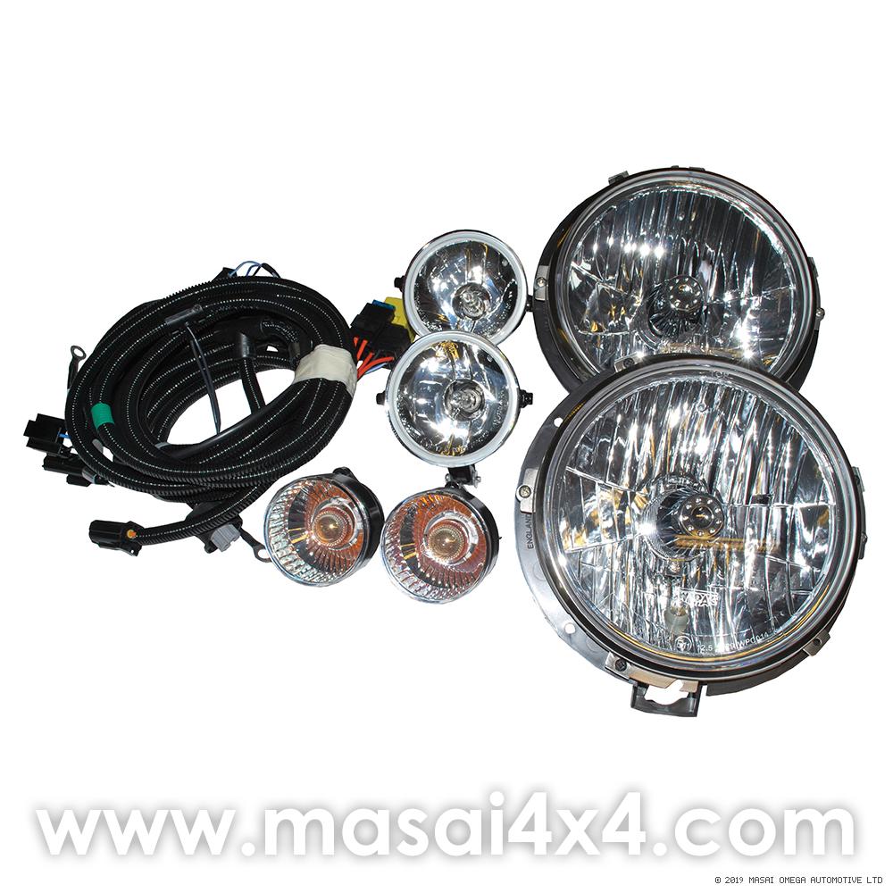 Defender SVX Style Lights