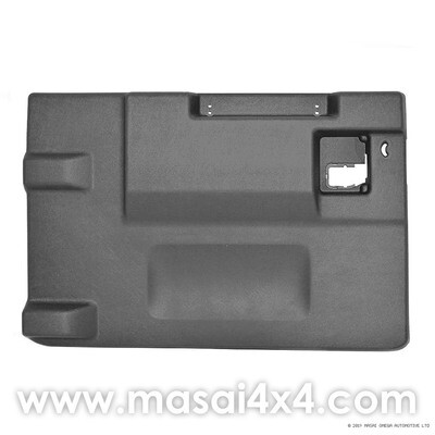 Replacement Rear Door Card/Trim for Defender (Post 2002) - Genuine LR - Black