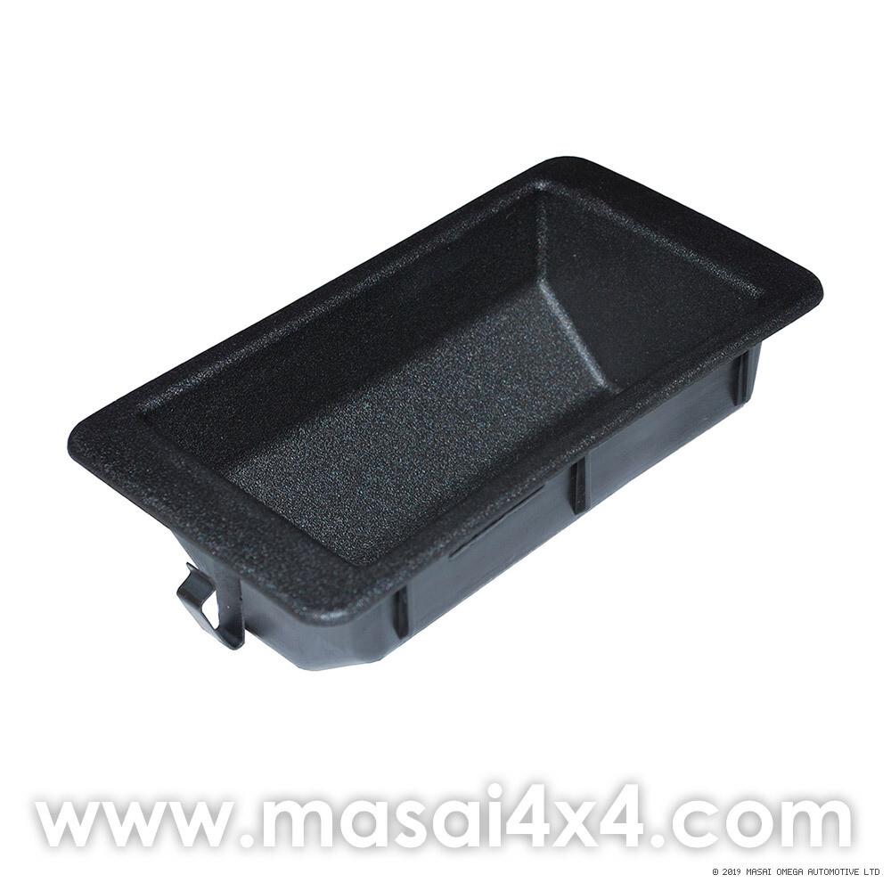 Upper Top Dash Coin Tray - Defender 83'-06' - Black