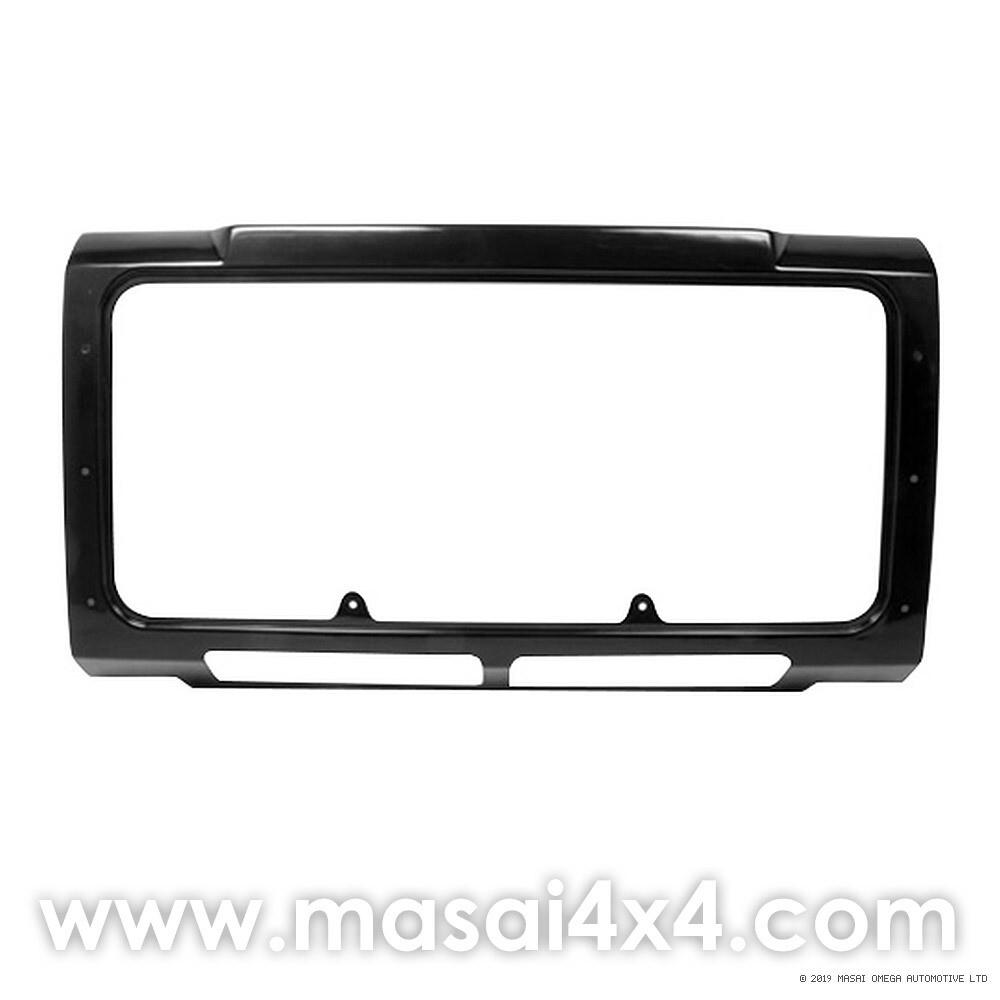 Front Panel for Grille - Defender (Air Con Models) - Black without lower mesh