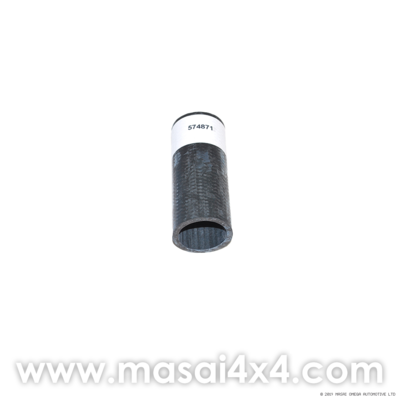 Bypass Hose for Defender 90/110 and Series II/IIA/III 88/109 Cooling System (Equivalent to 574871)