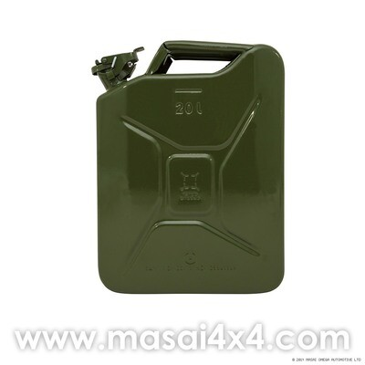 Jerry Can - Steel / Stainless Steel (20L Capacity)
