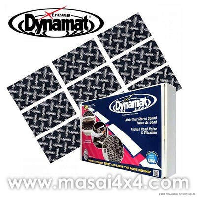 DYNAMAT Xtreme, Bulk Pak, 9 sheets - Sound Vibration and Insulation - 457mm x 812mm (36ft²)
