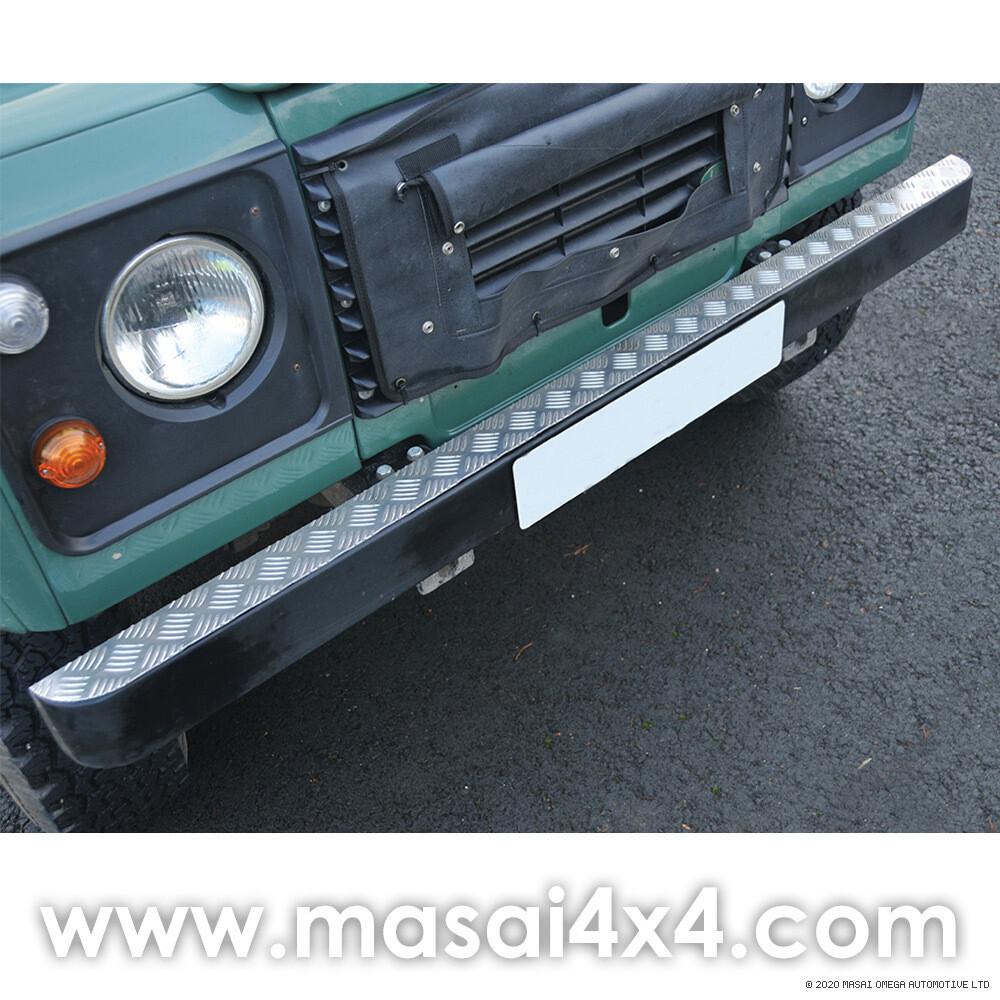 Bumper Top Chequer Plate (Aluminium Finish)