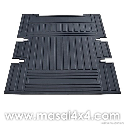 Loadspace Mat Rubber - Defender 90 with Forward Facing Seats - (1230 x 890 x 6mm)
