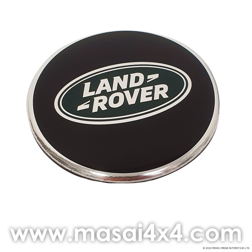 Land Rover - Genuine Wheel Centre Cap In Black or Silver (62mm)