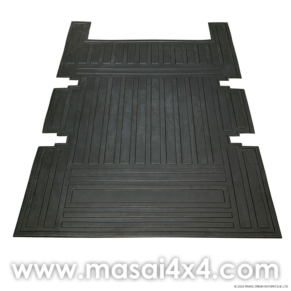 Loadspace Mat Rubber - Defender 110 2007 Onwards - 7 Seater - (1,230 x 890 x 6mm)