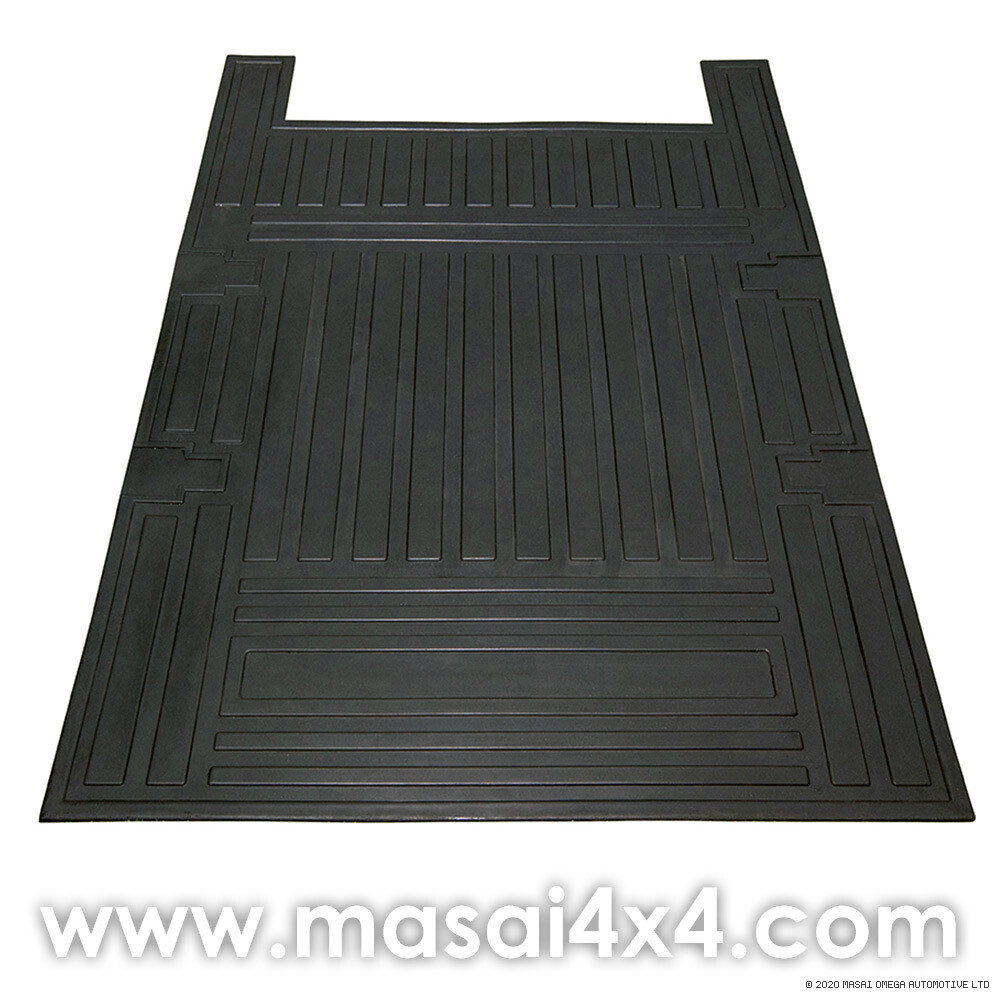 Loadspace Mat Rubber - Defender 110 SW (2007+) - 5 Seater - (1,230 x 890 x 6mm)