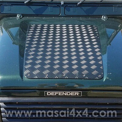 Chequer Plate for Defender Bonnets - 83' - 06' (TD5, 200TDI, 300TDI)
