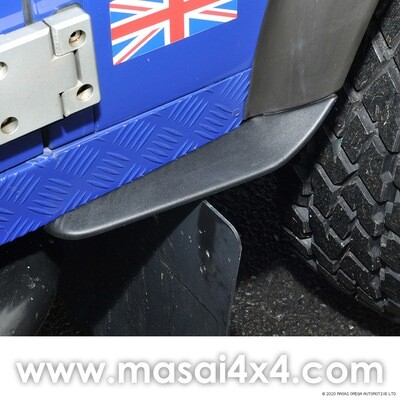 Dirt D-fenders - Mudguards for Defender 90/110/130
