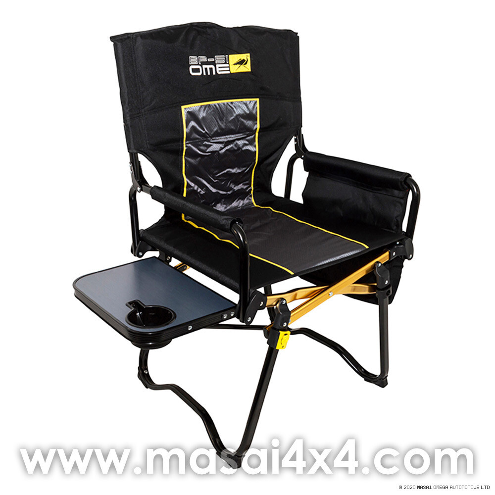 Old Man Emu Directors Chair - Camping Chair with Side Table