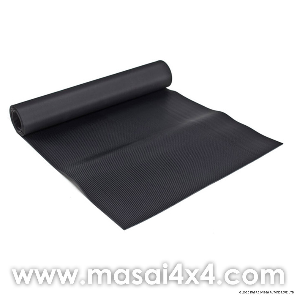 Ribbed Rubber Mat for Middle Row - Land Rover Defender 110 SW 1987 Onwards