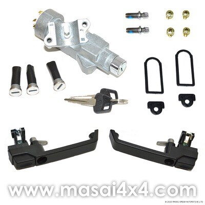 Ignition Barrel and Handle Conversion Kit - One Key Operation for Defender 90/110