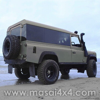 Fixed Panoramic Tinted Windows Full Length - Land Rover Defender 110 2-Door Hardtop - (ON BACKORDER, SEE DESCRIPTION)