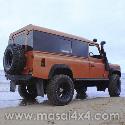 Sliding Panoramic Tinted Windows Full Length - Land Rover Defender 110 2-Door Hardtop - (ON BACKORDER, SEE DESCRIPTION)