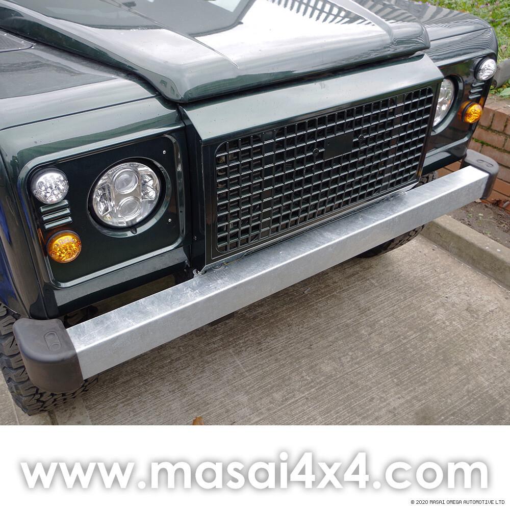 Galvanised Front Bumper for Defender 90/110