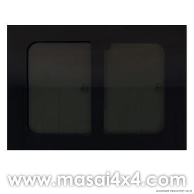 723mm x 513mm Horsebox Window - Sliding Opening (70% Dark TInt)