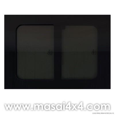 720mm x 513mm Horsebox Window - Sliding Opening (70% Dark Tint)