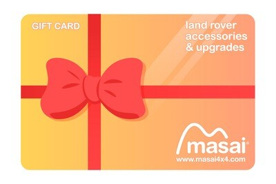 Masai4x4.com Gift Card (£50, £100, £200 Available)