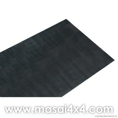 Rear Loadspace Mat - Defender 110 LWB & Series LWB (Ribbed Rubber)
