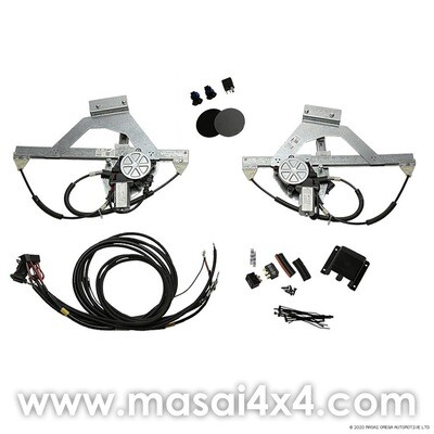 Electric Windows Conversion Kit for Defender 110/130 for 2nd Row Doors