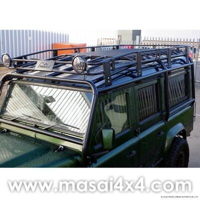 Tubular Roof Rack for Defender 110 - Suitable for Rollcages