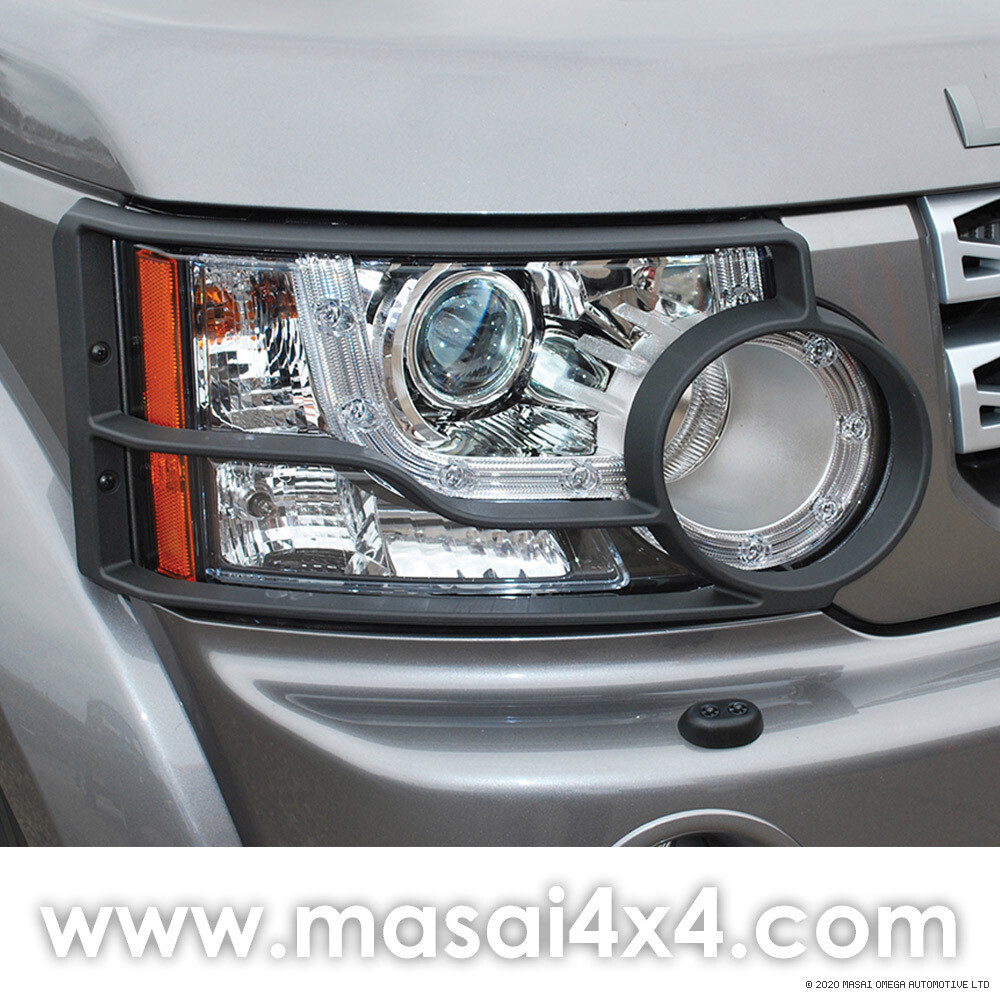 Discovery 4 - Front Lamp Guards (Genuine Land Rover) - PAIR