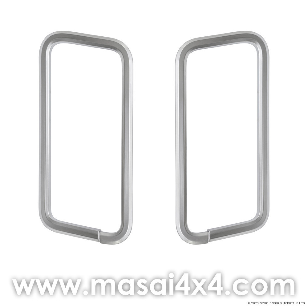 Discovery 4 - Front Seat Belt Frame Trim - PAIR