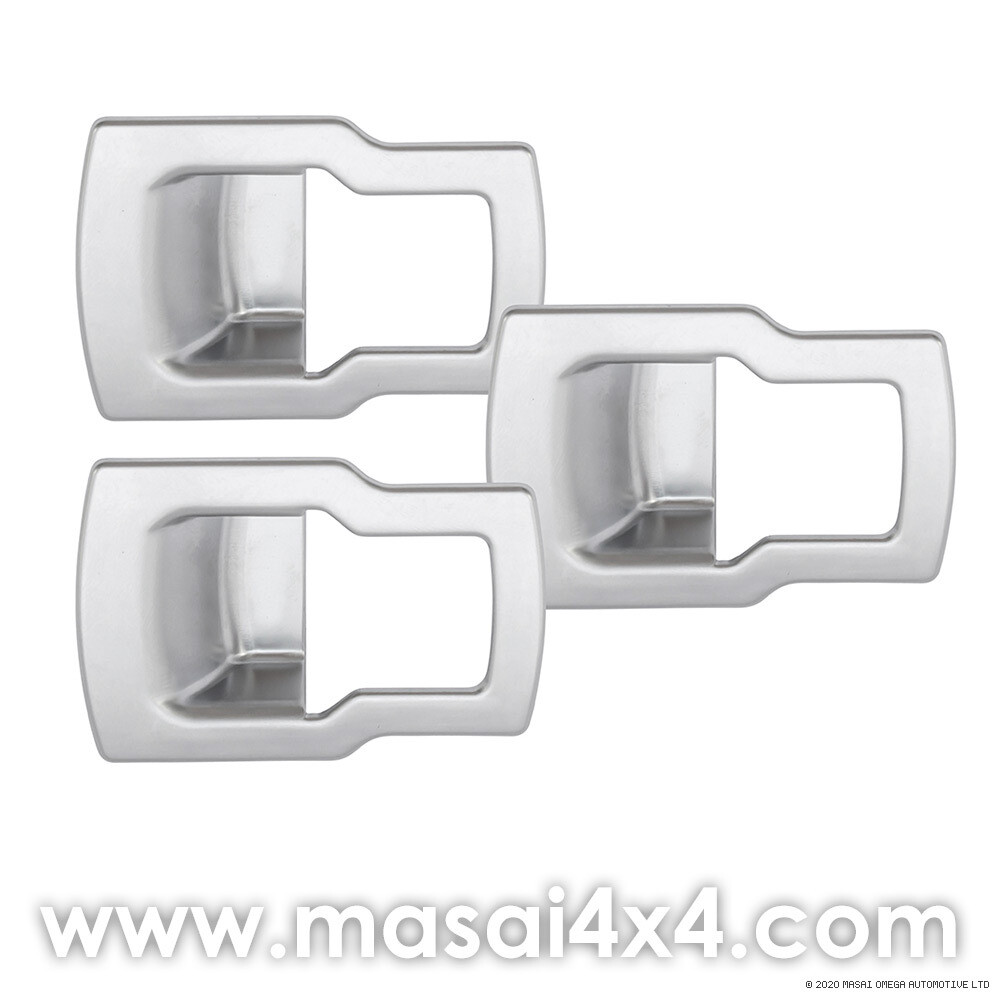 Discovery 4 - Window Lift Switch Button Trim - Set of 3