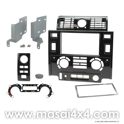 Double Din Conversion Console Kit - Defender PUMA (2007 Onwards)
