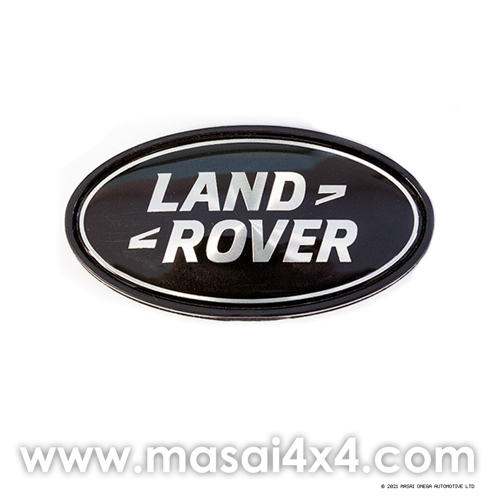 Land Rover Badge - In Frame (Green/Black)