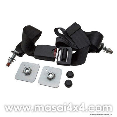 Static Lap Belt - Seat Belt with Stalk for Bench Seats & Inward Facing Seats