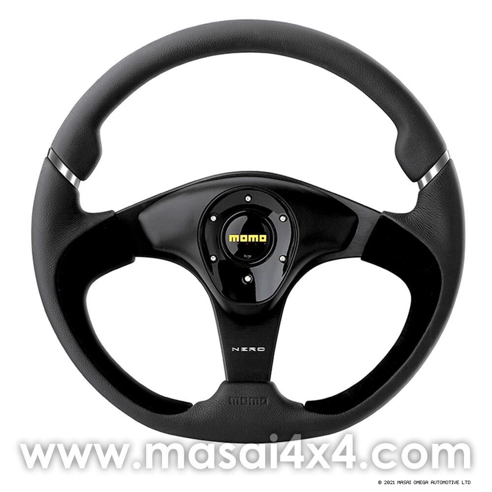 MOMO Nero - Steering Wheel 350mm
