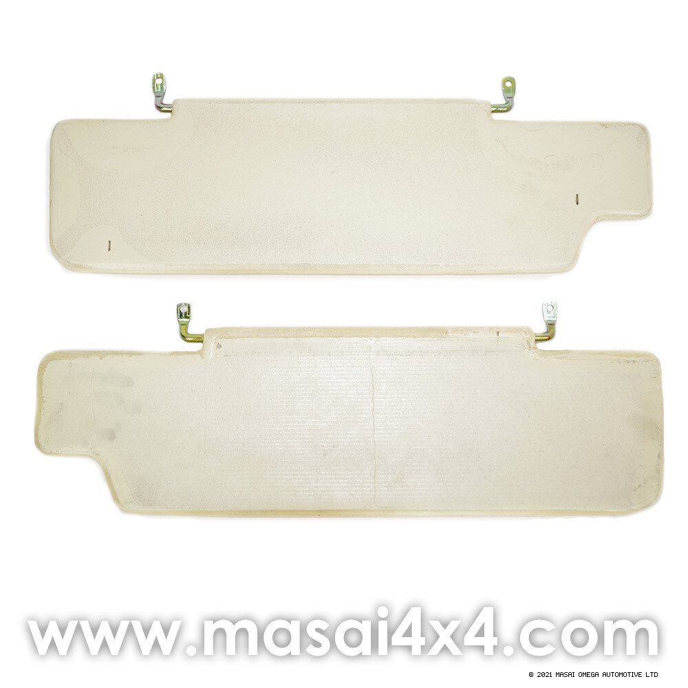 Sun Visors for Land Rover Defender - Uncovered / Covered (PAIR)