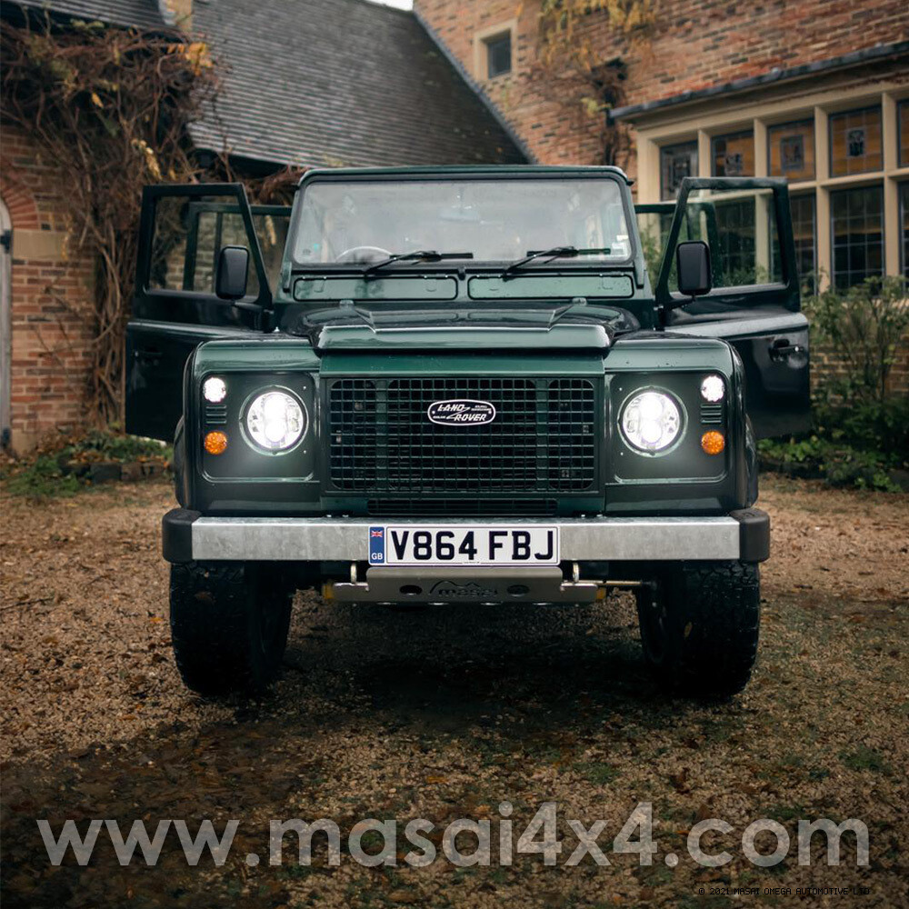 1999 Land Rover Defender 110 2.5 TD5 - 12 Seater - Metallic Green FOR SALE
