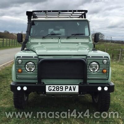 1989 Land Rover Defender 110 2-Door 300TDi - Grasmere Green FOR SALE - VERY LOW MILEAGE