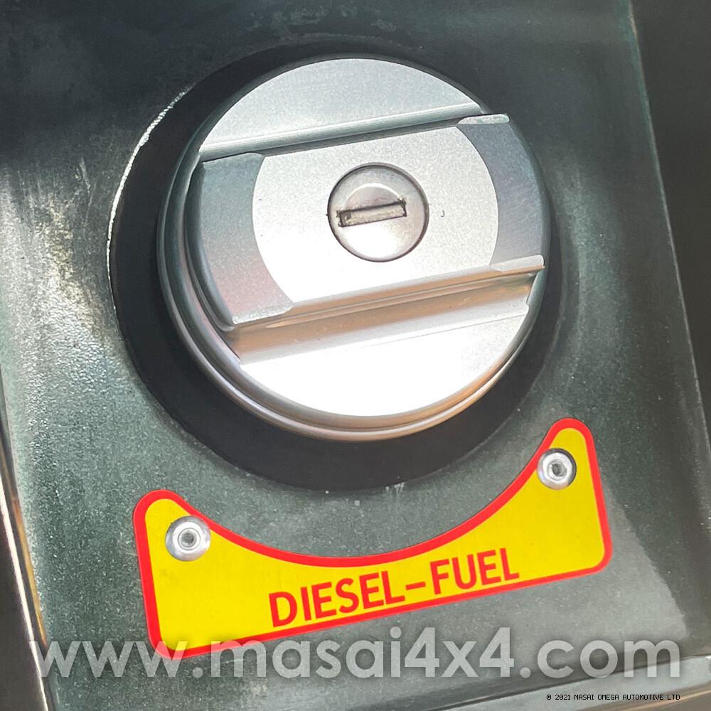 Diesel Badge for Fuel Cap for Land Rover Defender
