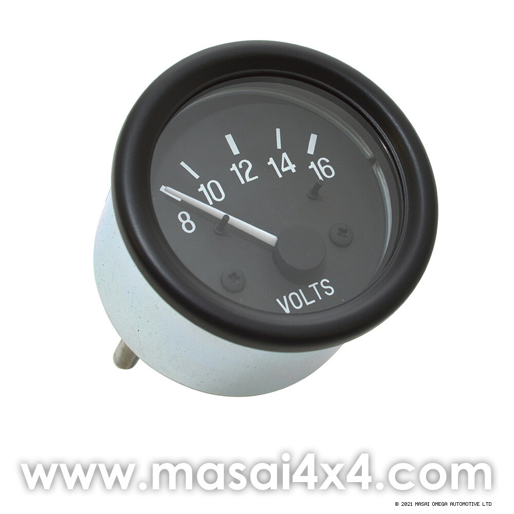 Defender Volt Meter Gauge - Voltmeter fits Defenders up to 2006 (Can be fitted to Puma with modification) - Alpine