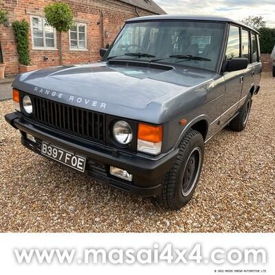 1984 Range Rover Classic 3.5 V8 Auto - 5 Seater - Blue FOR SALE