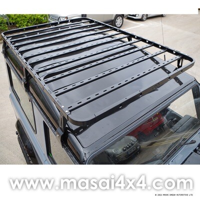 Flat Mech Roof Rack for Roof Tents - Defender 90, Crew Cab & 110